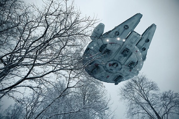 Super-Realistic Photos of Star Wars Toys