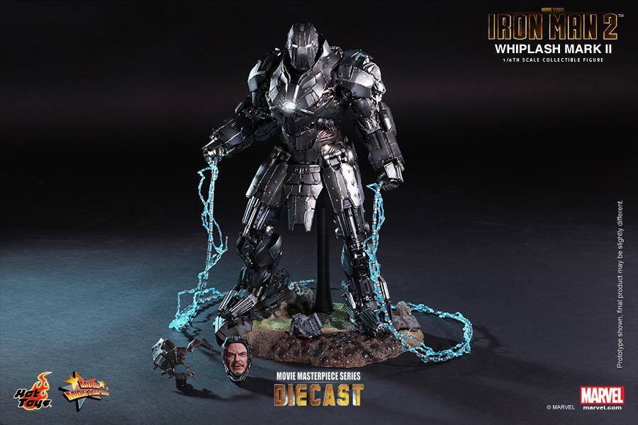 Iron Man 2: 1/6th scale Whiplash Mark II Collectible Figure