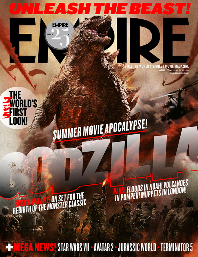 GODZILLA - Empire Magazine Cover