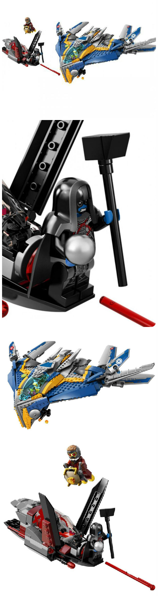 GUARDIANS OF THE GALAXY Movie LEGO Set