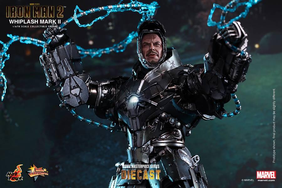 Iron Man 2 16th scale Whiplash Mark II Collectible Figure