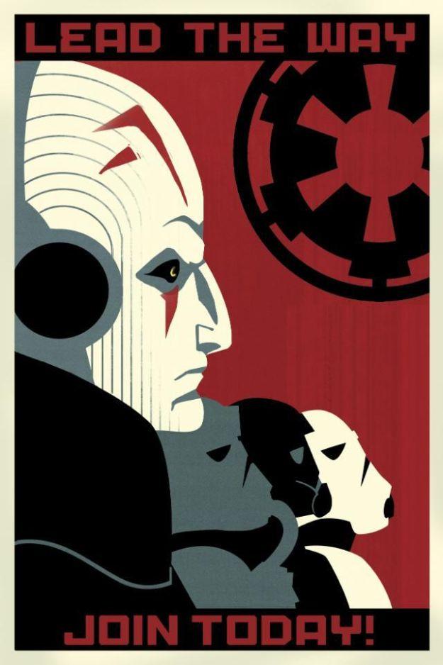 Imperial Propaganda for Star Wars Rebels