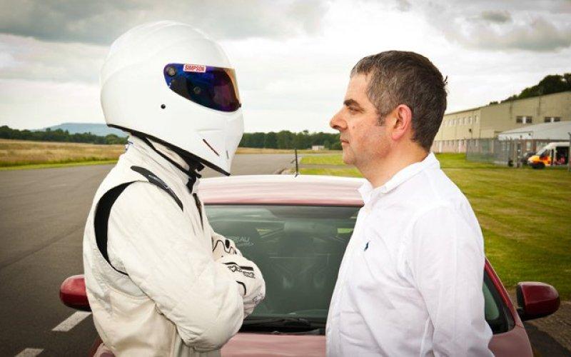 Stig and Mr Bean