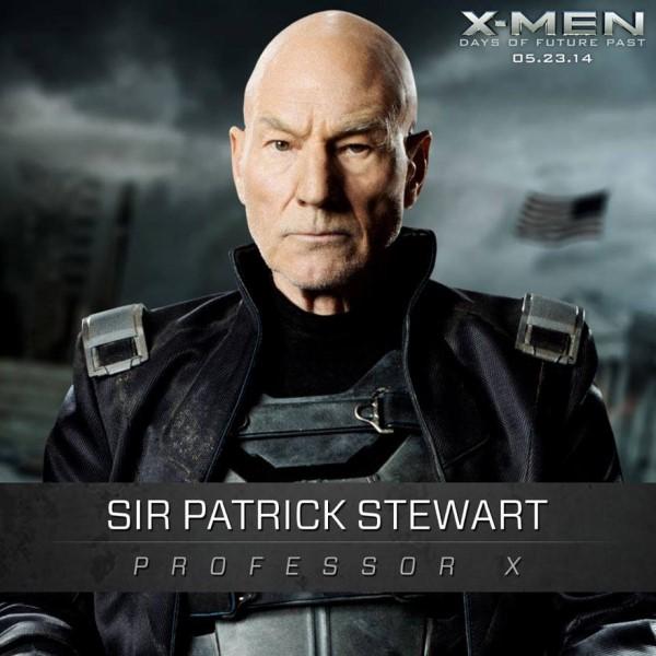 Patrick Stewart Gets an X-Men: Days of Future