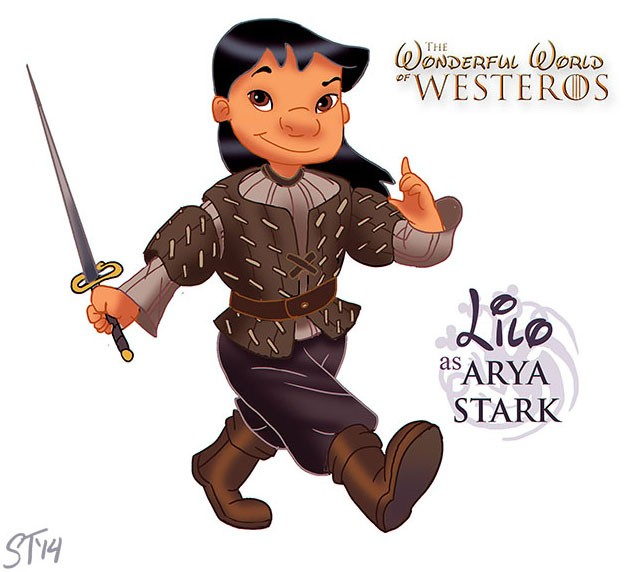 What if Disney Princesses Were Game Of Thrones Characters?