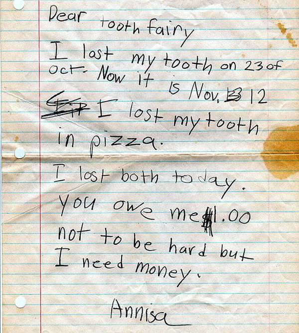 Brutally Honest Kids Notes
