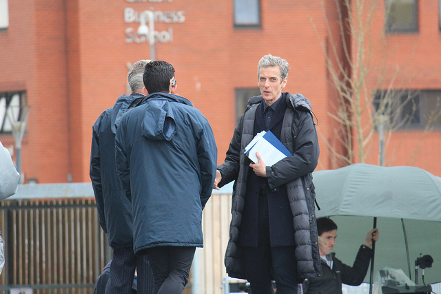Doctor Who Series 8 filming pics