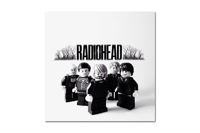 Famous Bands Re-Created Using LEGO Minifigs