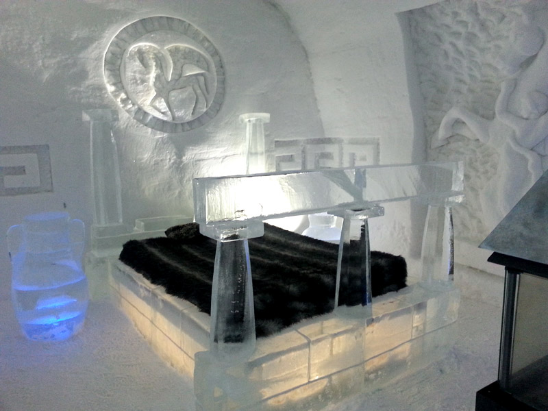Majestic Beauty of Quebec City's Ice Hotel
