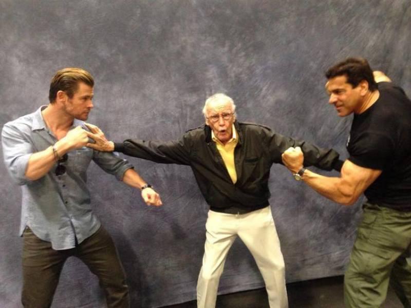 Hulk Vs. Thor Fight! Stan Lee Breaks Up