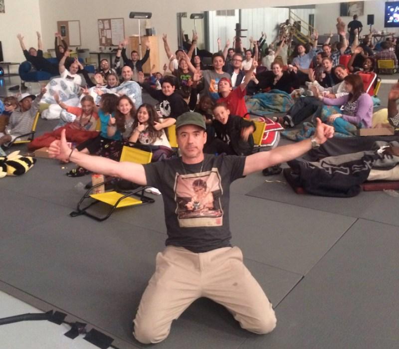 Robert Downey Jr. Celebrated Birthday With Kids