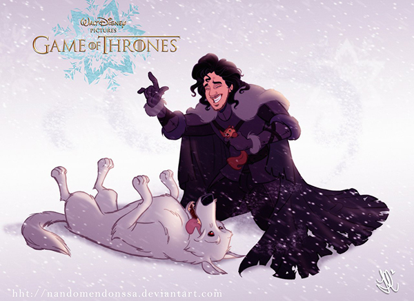 What if Disney Made a Game of Thrones Cartoon?