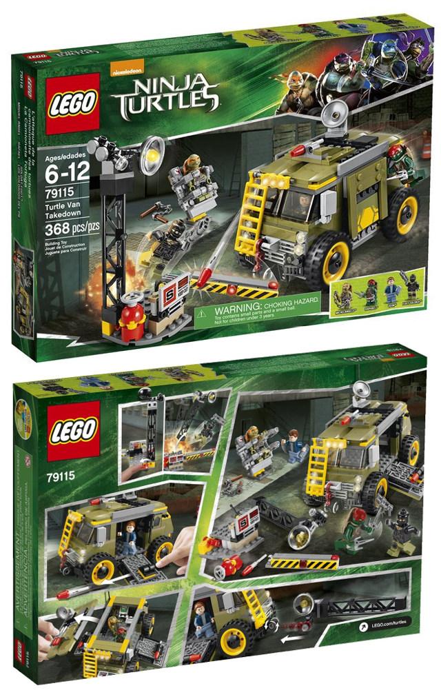Official Ninja Turtle Movie LEGO Sets