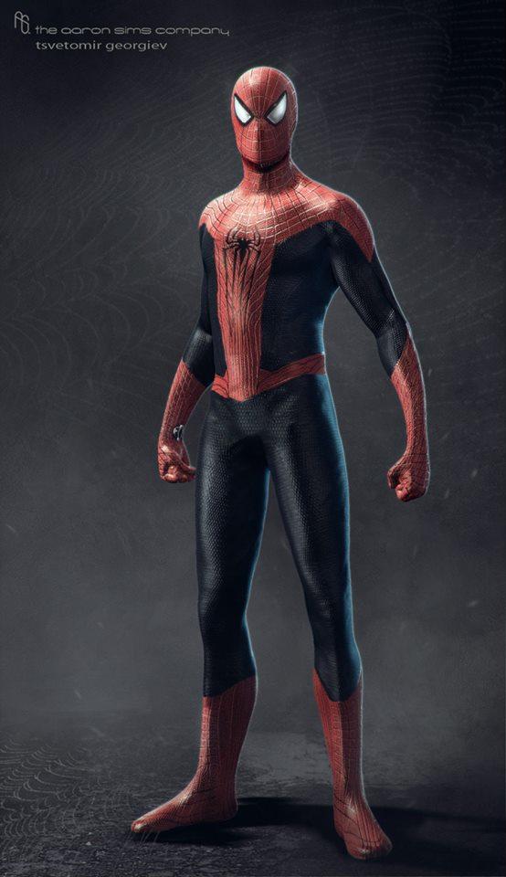 THE AMAZING SPIDER-MAN 2 Concept Art