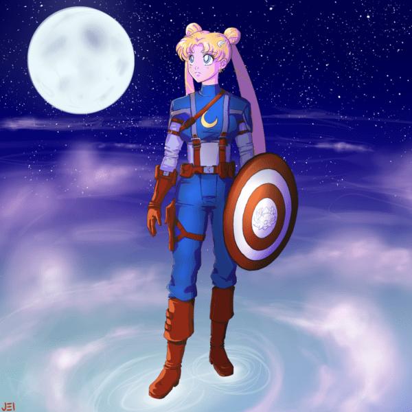 Sailor Moon Meets the Avengers