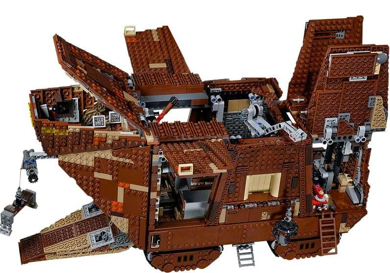 Lego Star Wars Sandcrawler