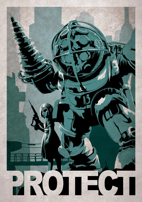 Video Game Poster Art by Alex Ramallo (2)