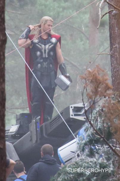 Avengers: Age of Ultron Set Photos