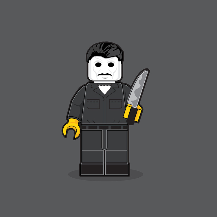 Classic Pop Culture Characters as LEGO Minifigures (6)