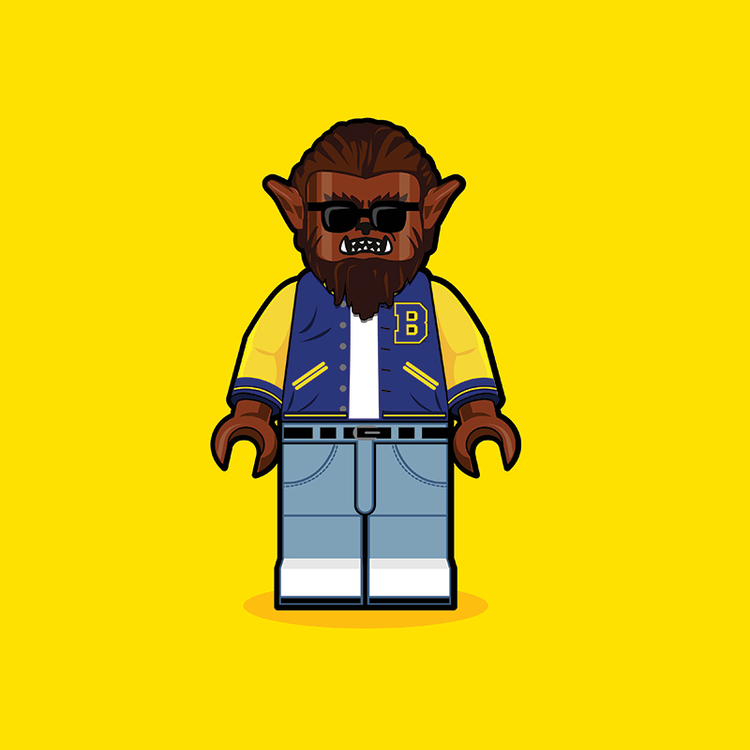 Classic Pop Culture Characters as LEGO Minifigures (9)