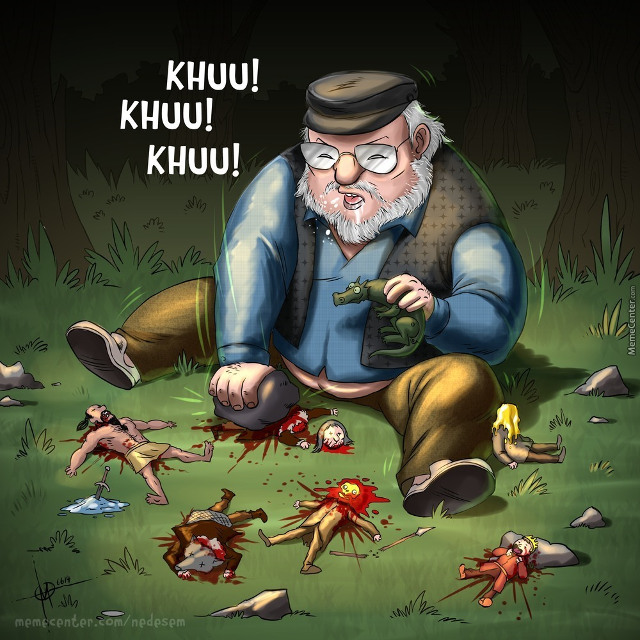 Game Of Thrones In A Single Cartoon Image