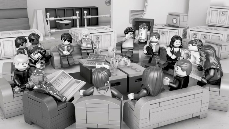 STAR WARS: EPISODE VII Script Read Recreated in LEGO