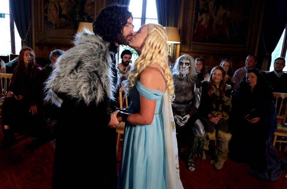 GAME OF THRONES Themed Wedding