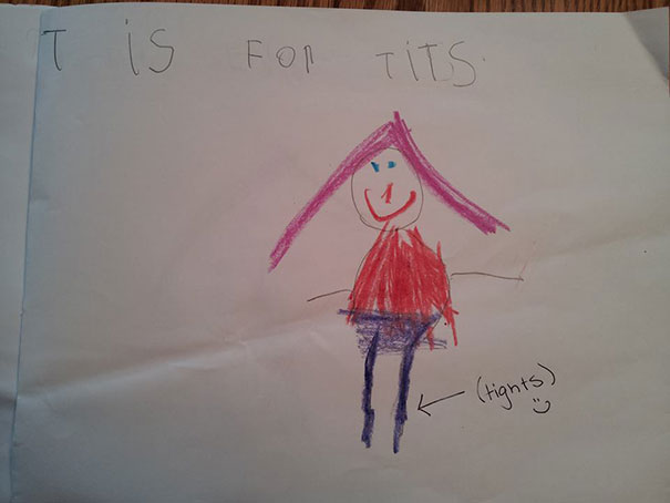 Childrens Hilariously Inappropriate Spelling Mistakes (1)