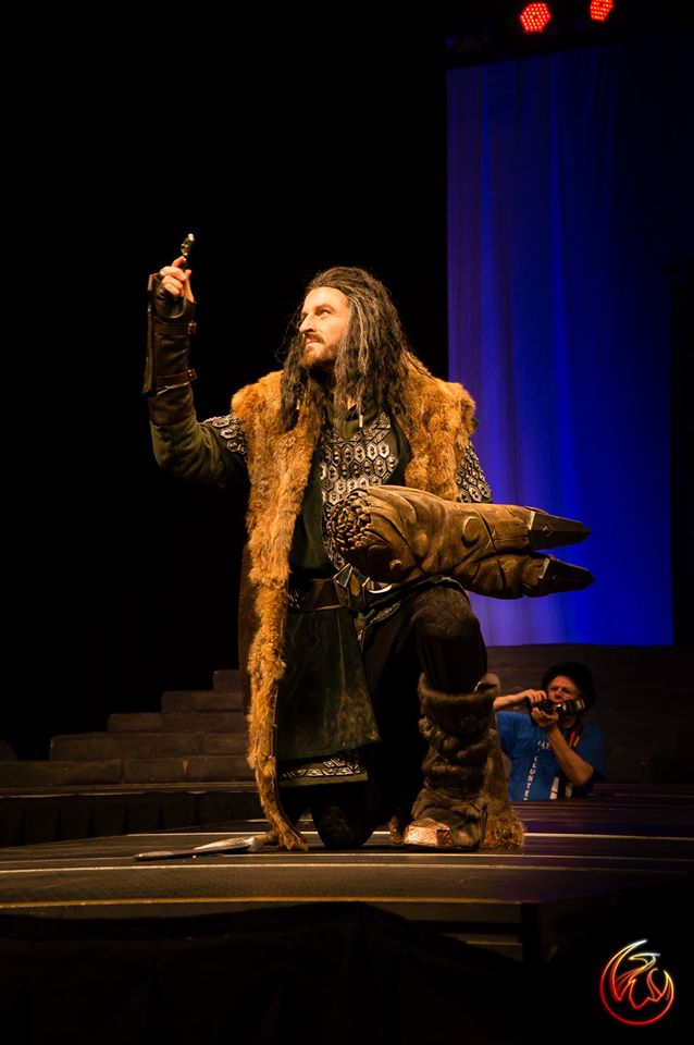 Thorin Oakenshield Cosplayer from THE HOBBIT