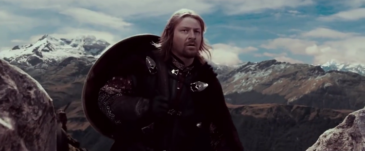 Mashup of GAME OF THRONES and LORD OF THE RINGS