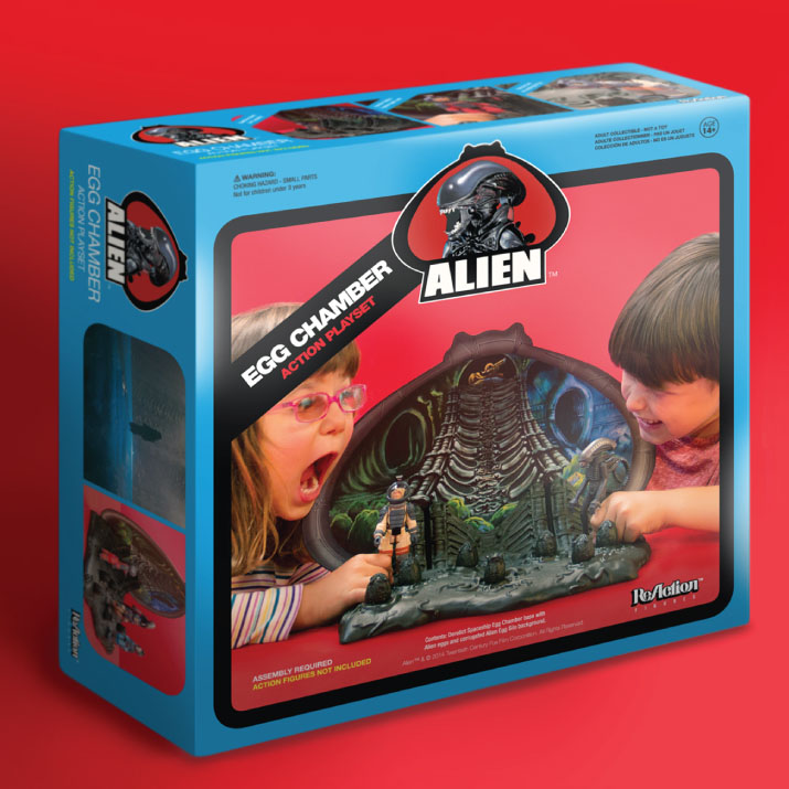 ALIEN Egg Chamber ReAction Playset