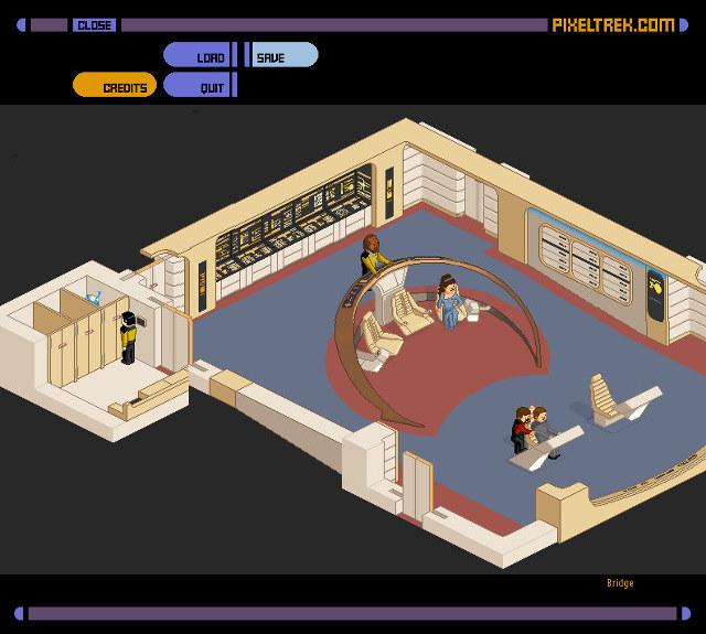 Star Trek Enterprise In-Browser Maze Game
