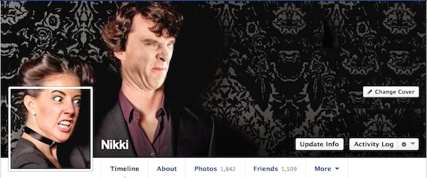 Geek Girl Makes The Best Facebook Cover Photos