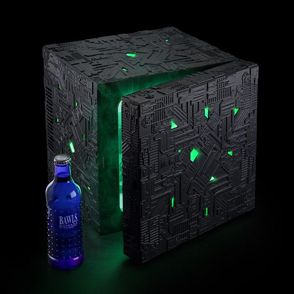 Borg Cube Mini Fridge