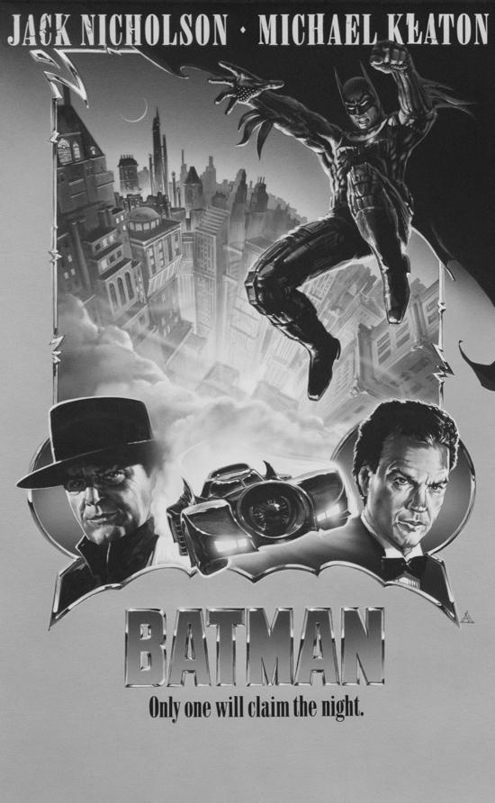Unused BATMAN and JURASSIC PARK Posters