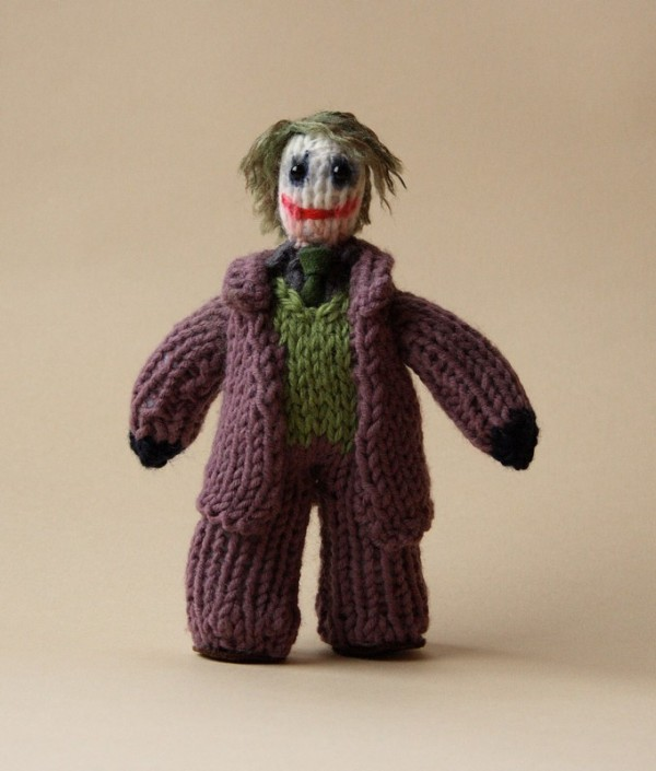 Beautiful Knitted Characters from Pop Culture