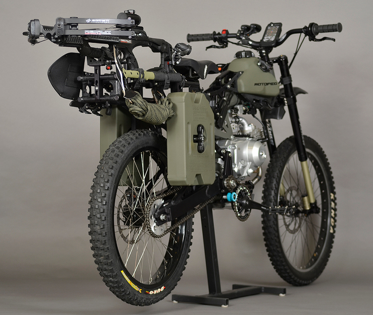 Motoped Survival Edition