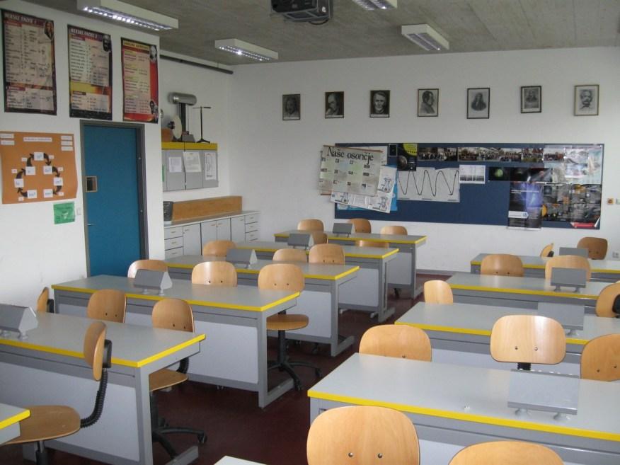 Slika 6. Fizikalna učilnica