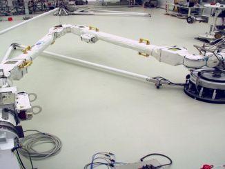Airbusun Robotik Kolu Hazır