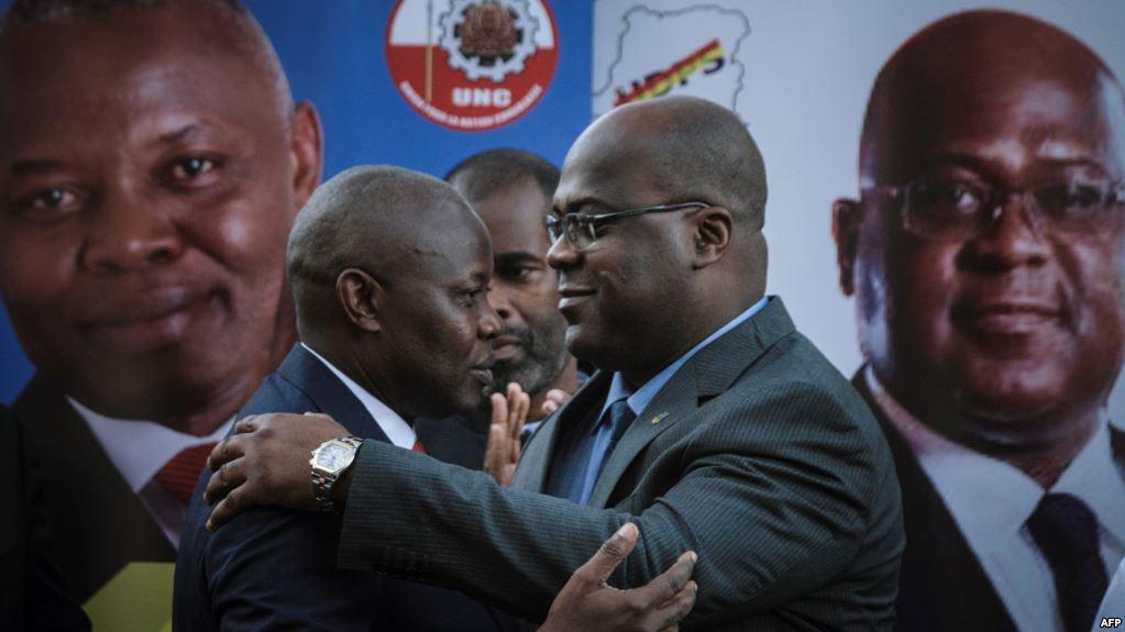 RDC : A Goma, Kamerhe encense Tshisekedi et critique Lamuka