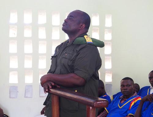 RDC-KASSAI : Procès meurtre des experts de l'ONU, le colonel Mambweni arrêté à Kananga