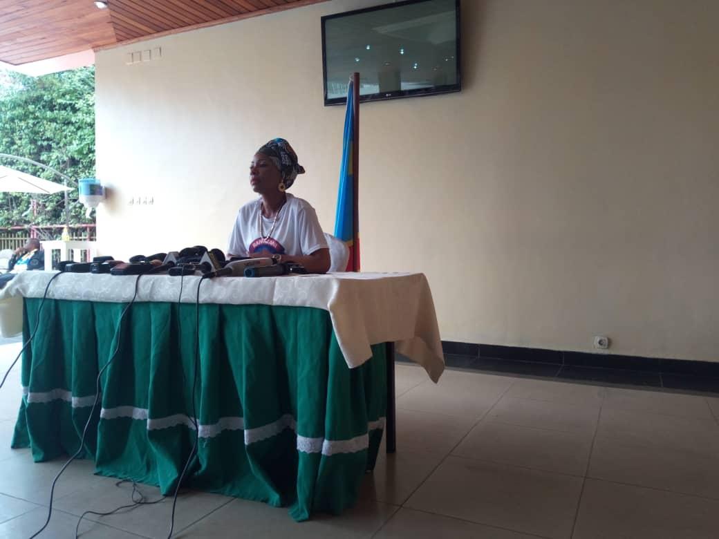Goma - RDC : Madame Olive lembe invite la communauté nande à rejeter toute forme d'hypocrisie.