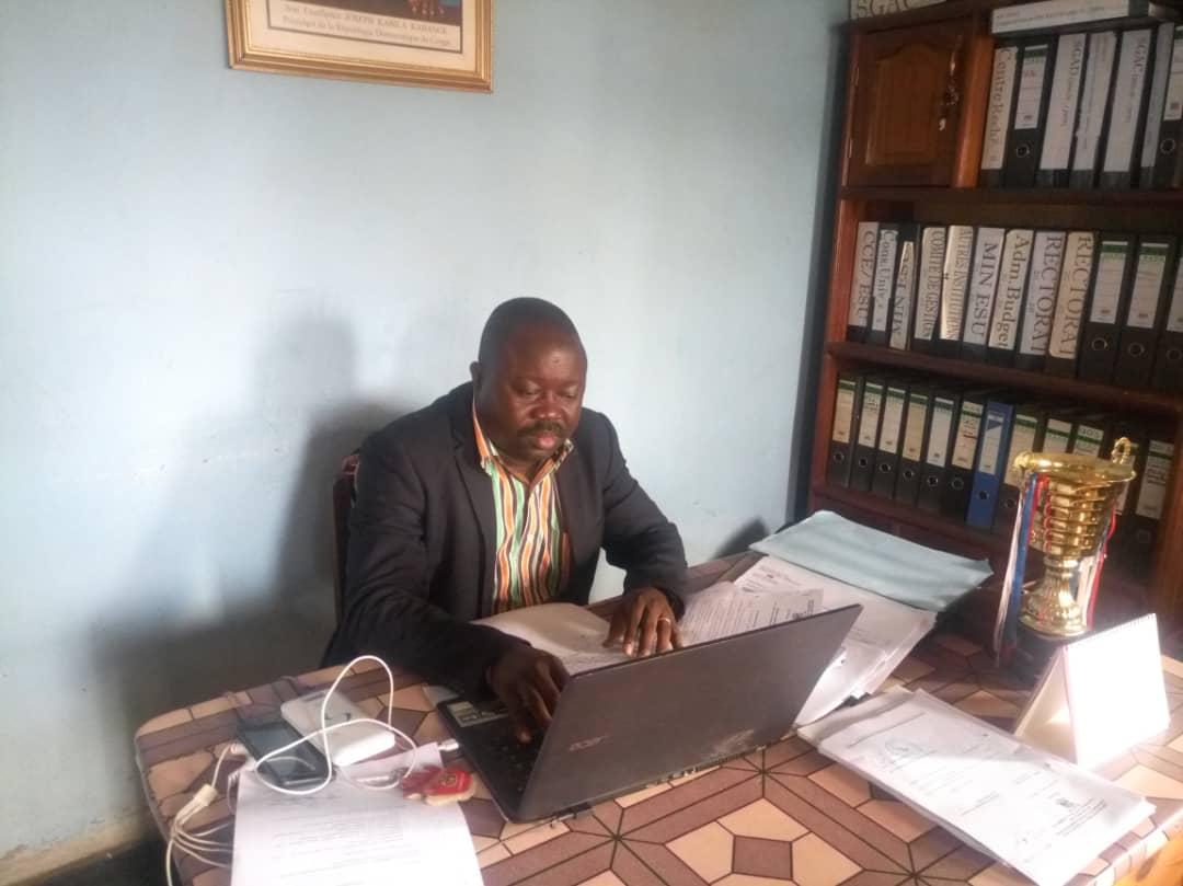 Beni-RDC : Quelques enseignants de l'Université Officielle de Semuliki (U.O.S/Béni)
