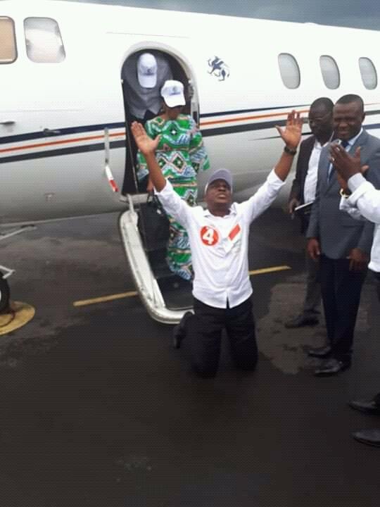 Élection-RDC : Martin Fayulule,candidat de coalition LAMUKA a foulé le sol de Beni