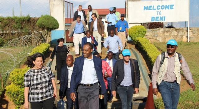 Beni-RDC : la MONUSCO réitère son appui à la lutte contre Ebola et l'insécurité
