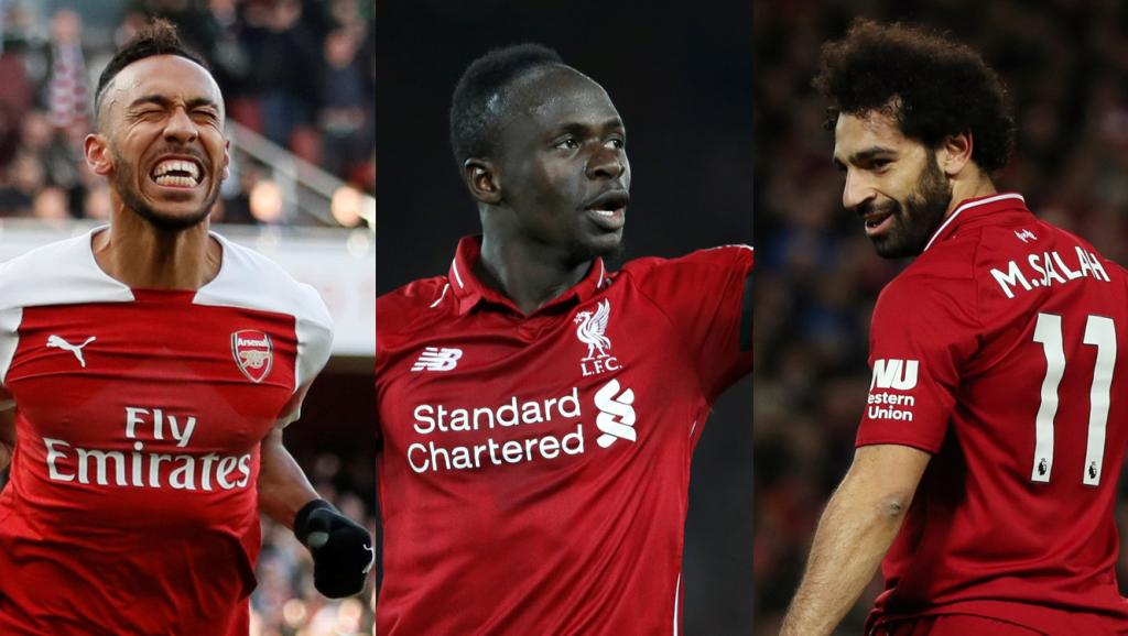 Joueur africain 2018: Aubameyang, Mané, Salah sont finalistes