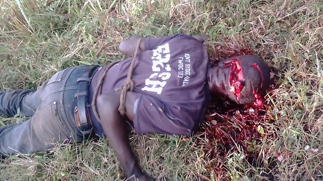 Fizi-katanga : Insécurité au coeur de la cité, Une boucher a été retrouvé mort