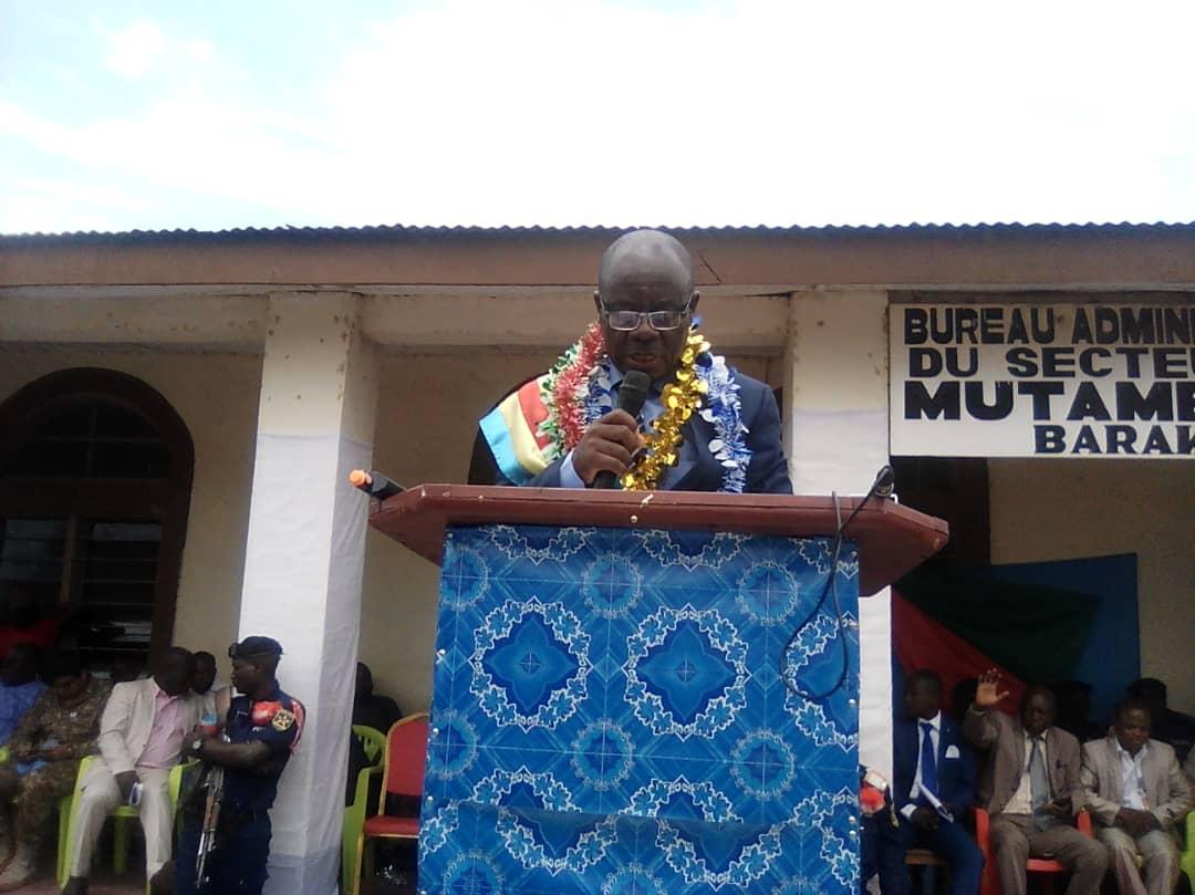 SUD-KIVU/BARAKA : Installation officielle du maire de la ville.
