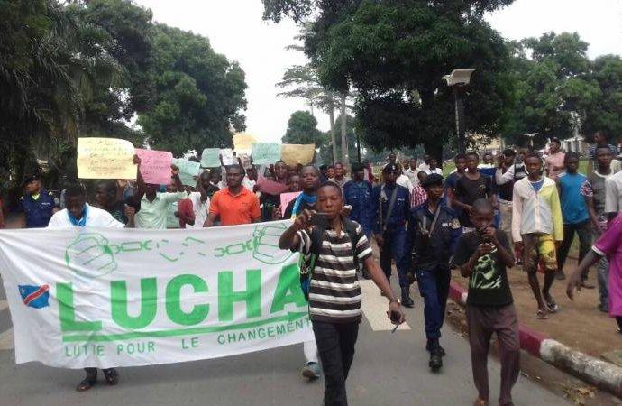 RDC : Des militants de Lucha arrêtés à Goma et Kinshasa