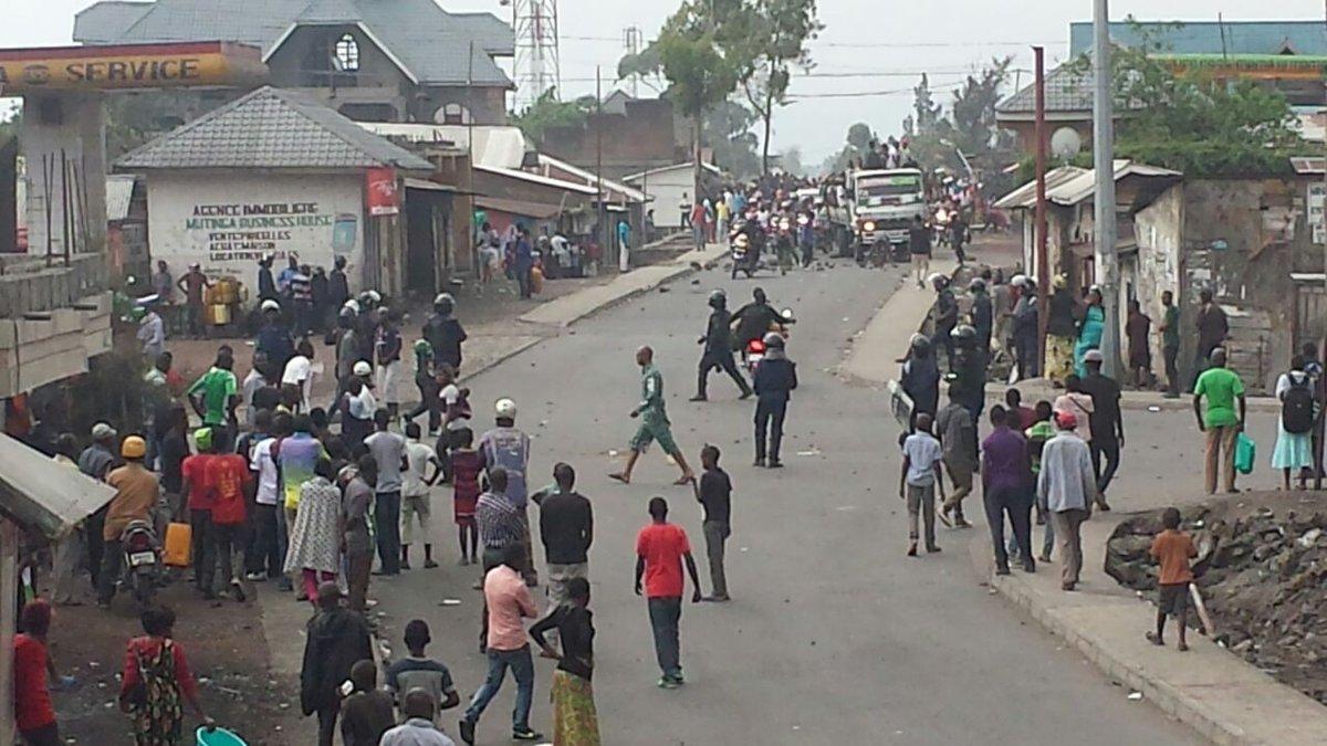 Goma-RDC : La situation sécuritaire est relativement calme en commune de Karisimbi